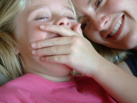 Libby, Flickr.com/Vaikų juokas nuoširdus