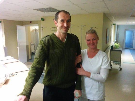 Dovydo Pancerovo nuotr./Andrejus du mėnesius praleido Vilniaus universitetinėje ligoninėje.