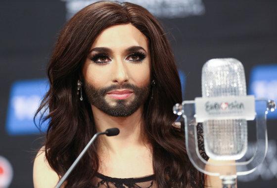 """Luko Balandžio/Žmonės.lt nuotr./ """"Eurovizijos"""" nugalėtojas Conchita Wurst"""