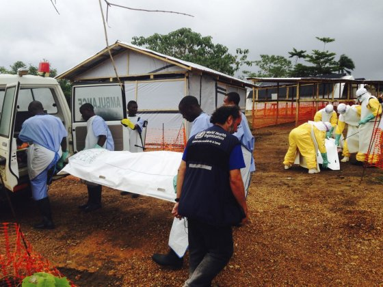 """""""Reuters""""/""""Scanpix"""" nuotr./Ebolos virusas siaučia vakarų Afrikoje"""