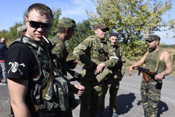 """AFP/""""Scanpix"""" nuotr./Prorusiški teroristai"""