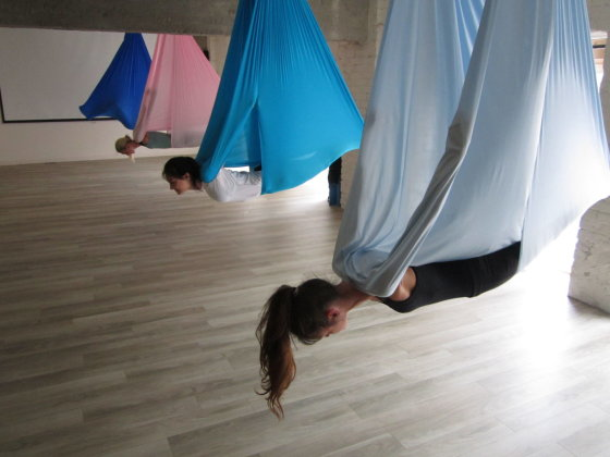 Antigravitacinė joga
