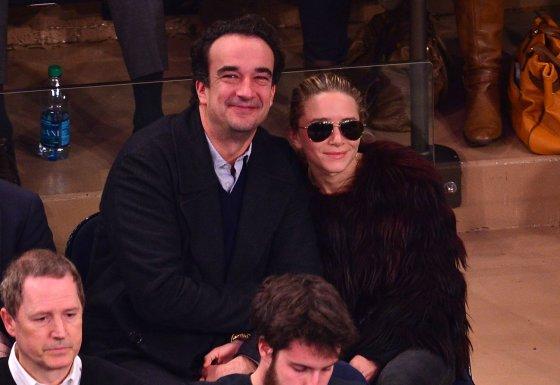 AOP nuotr./Olivier Sarkozy ir Mary Kate Olsen