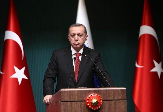 """AFP/""""Scanpix"""" nuotr./Turkijos prezidentas Recepas Tayyipas Erdoganas"""