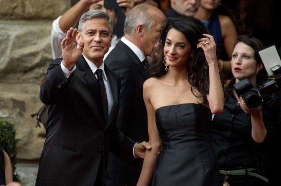 AOP nuotr./Amal Alamuddin ir George'as Clooney