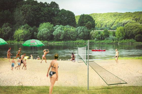 Vizualinis projektas  Šančių paplūdimiui