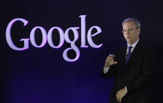 """Reuters""/""Scanpix"" nuotr./""Google"" valdybos pirmininkas Ericas Schmidtas"