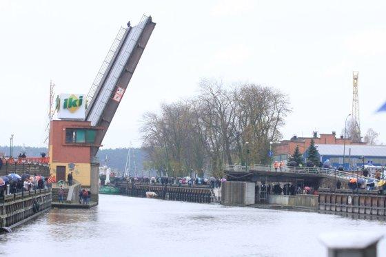 Aurelijos Kripaitės/15min.lt nuotr./Pilies tiltui Klaipėdoje rekonstruoti prireiks per 11 mln. Lt.
