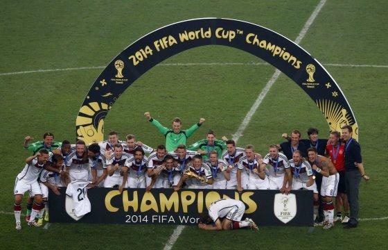"""""""Reuters""""/""""Scanpix"""" nuotr./Vokietijos futbolininkai gali puikiai pailsėti prieš tarptautinius turnyrus"""