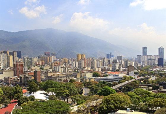 Fotolia nuotr./Venesuelos sostinė Karakasas