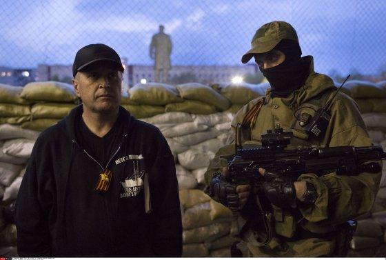 """Scanpix"" nuotr./Slovjansko separatistų vadas Viačeslavas Ponomariovas"
