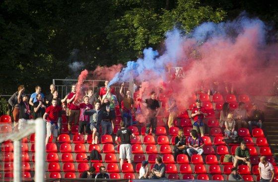 """Irmanto Gelūno/15min.lt nuotr./Lietuvos futbolo A lyga: """"Žalgiris"""" – """"Dainava"""""""