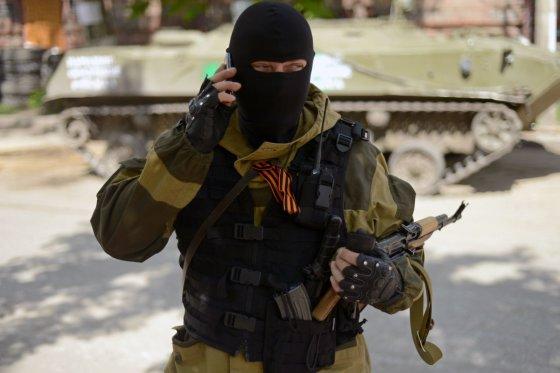 "AFP/""Scanpix"" nuotr./Separatistas Slovjanske"