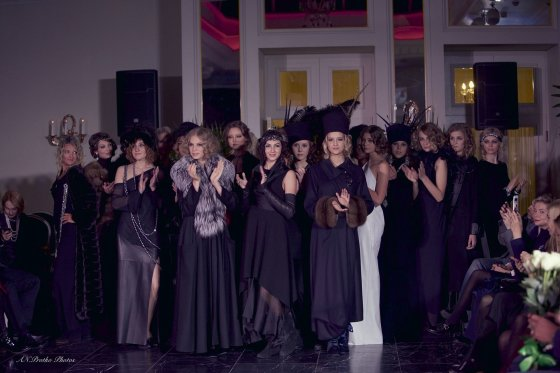 "Annos Protko nuotr./""Femmes Fatales"" kolekcijos pristatymas Rygoje"