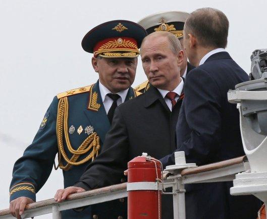 """""""Reuters""""/""""Scanpix"""" nuotr./Rusijos prezidentas Vladimiras Putinas Sevastopolyje"""