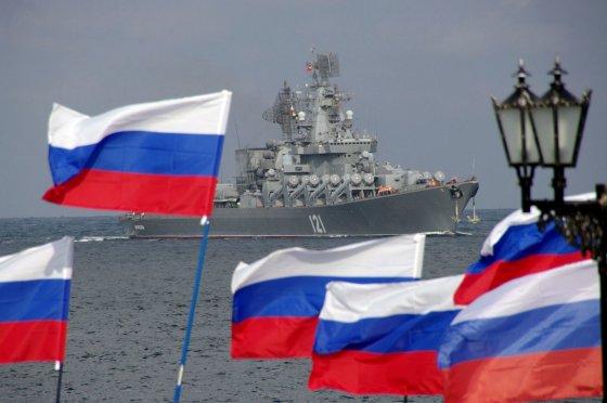 """AFP/""""Scanpix"""" nuotr./Rusijos karinis laivynas"""