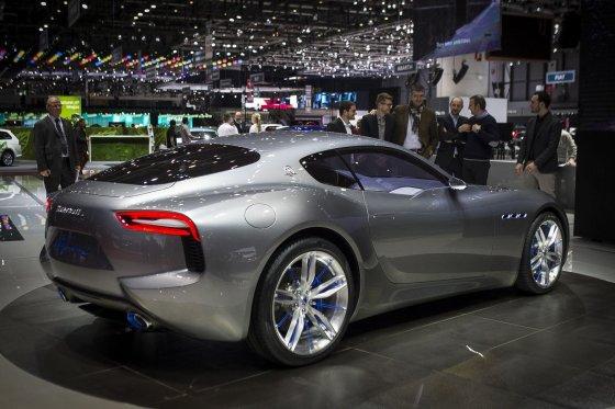 """Irmanto Gelūno/15min.lt nuotr./Dailiausias konceptas Ženevoje - """"Maserati Alfieri"""""""