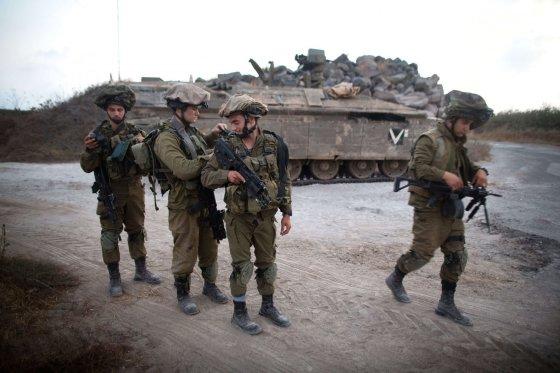 "AFP/""Scanpix"" nuotr./Izraelio kariai"