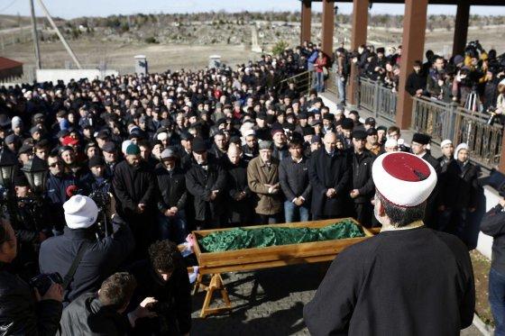 """""""Scanpix"""" nuotr./Krymo totoriaus laidotuvės"""