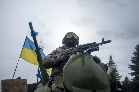 "AFP/""Scanpix"" nuotr./Ukrainos karys Donceko regione"
