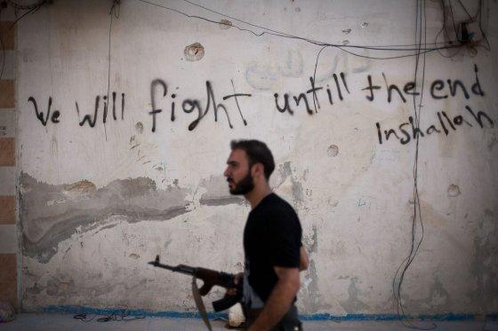 """""""Scanpix""""/AP nuotr./Sukilėlis Sirijoje"""
