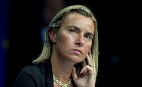 """AFP/""""Scanpix"""" nuotr./FedericaMogherini"""