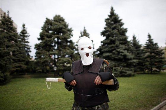 """""""Reuters""""/""""Scanpix"""" nuotr./Separatistas Rytų Ukrainoje"""