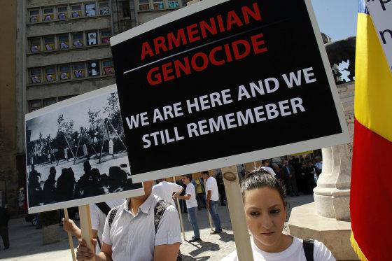 """""""Reuters""""/""""Scanpix"""" nuotr./Armėnų genocido 100-sios metinės"""