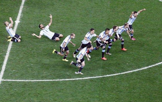 """""""Reuters""""/""""Scanpix"""" nuotr./Argentinos futbolo rinktinė – pasaulio čempionato finale"""
