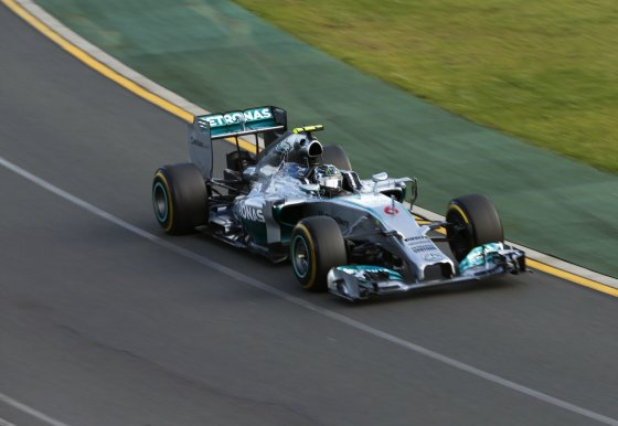 """Reuters""/""Scanpix"" nuotr./Nico Rosbergas, ""Mercedes GP"""