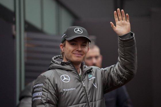 """Scanpix"" nuotr./Nico Rosbergas, ""Mercedes GP"""