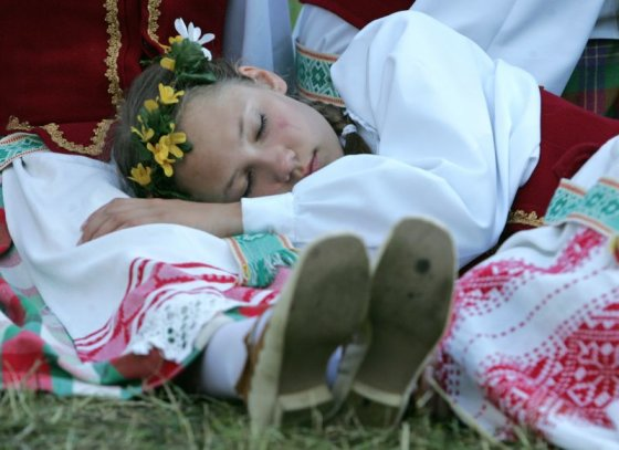A. Ufarto BFL nuotr./Miegas