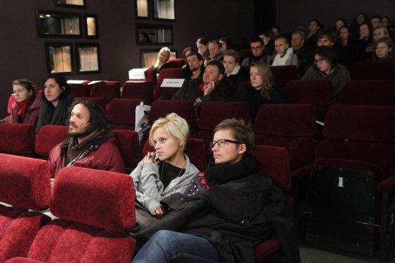 Jūratės Ramanauskaitės nuotr./Kari Anne Moe susitikimas su žiūrovais