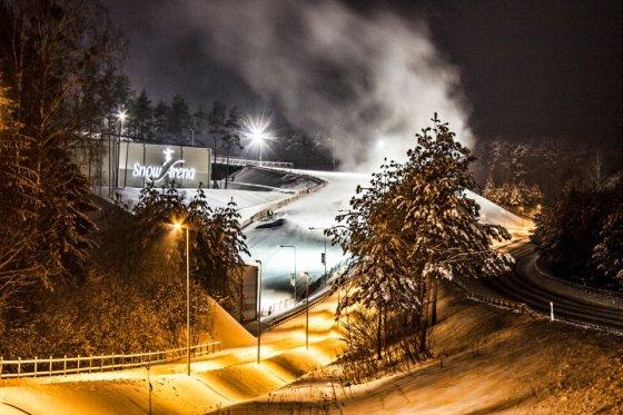 """Snow arenos nuotr./Druskininkų """"Snow arena"""""""