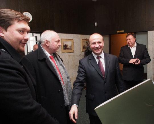 V.Danauskienės iliustr./Ministras Valentinas Mazuronis lankėsi Druskininkuose