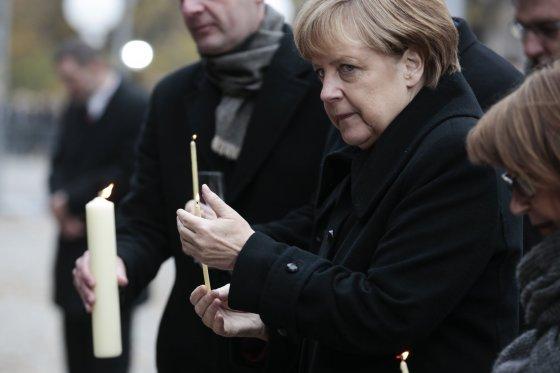 """""""Scanpix""""/AP nuotr./Minimos Berlyno sienos griuvimo 25-osios metinės"""