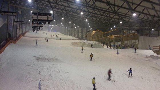 """Žilvino Pekarsko/15min.lt nuotr./Naktinis slidinėjimas Druskininkų """"Snow arenoje""""  2013 m. gruodžio 01 d."""