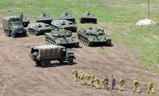 "AFP/""Scanpix"" nuotr./Armėnų kariai"