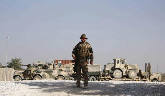 """Reuters""/""Scanpix"" nuotr./Vokietijos karys bazėje Kunduze"