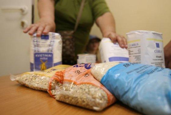 Irmanto Gelūno/15min.lt nuotr./Liepos 13-29 dienomis beveik 23 tūkst. labiausiai nepasiturinčių žmonių Vilniuje ir Panevėžyje sulauks paramos maisto produktais.