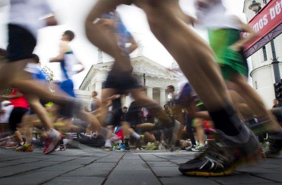 """Irmanto Gelūno/15min.lt nuotr./""""Danske Bank Vilniaus maratonas"""""""