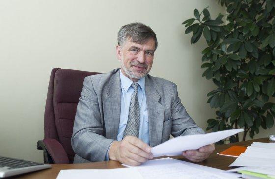 Irmanto Gelūno/15min.lt nuotr./Jono Pauliaus II vidurinės mokyklos direktorius Adamas Blaškevičius