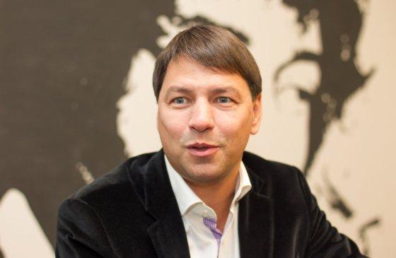 "Irmanto Gelūno/15min.lt nuotr./""Mineralinių vandenų"" generalinis direktorius Marijus Cilcius"