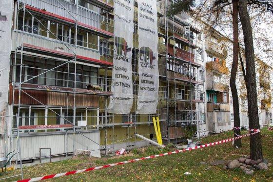 Irmanto Gelūno/15min.lt nuotr./Renovacija Vilniuje juda lėtai