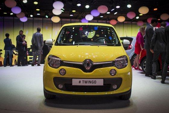"""Irmanto Gelūno/15min.lt nuotr./Variklį gale turintis """"Renault Twingo"""""""