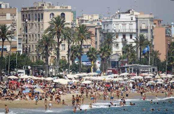 """Reuters""/""Scanpix"" nuotr./Barselonos paplūdimys"