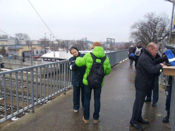 Vilniaus policijos nuotr./Akcijos akimirka