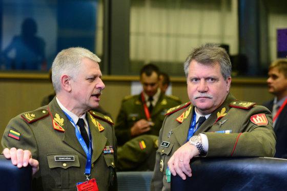 Alfredo Pliadžio nuotr./NATO karinio komiteto sesija