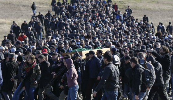 "AFP/""Scanpix"" nuotr./Rešato Ametovo laidotuvės"