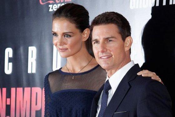 zmones24.lt/Katie Holmes ir Tomas Cruise'as